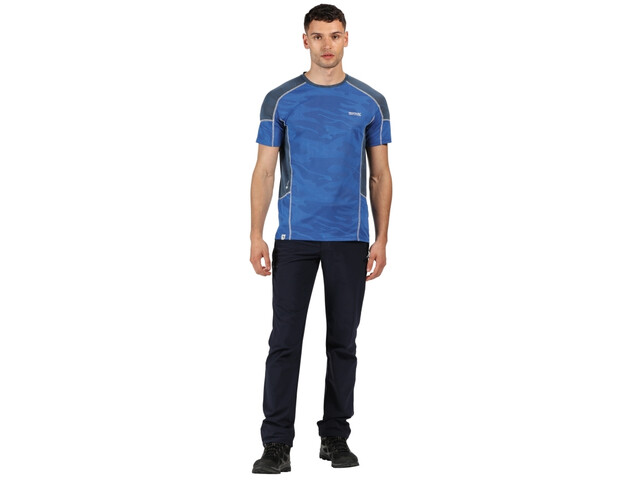 Regatta Camito T-Shirt Men, nautical blue/dark denim